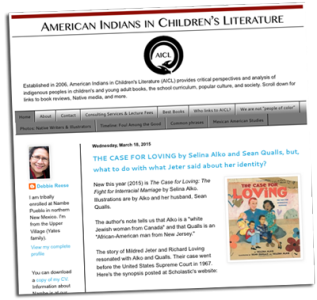 American Indians in Children's Literature (Website)   Zinn Education Project: Teaching People's History