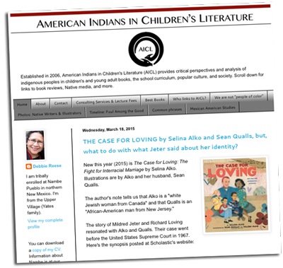 American Indians in Children's Literature (Website) | Zinn Education Project: Teaching People's History