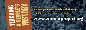 Bookmarks - Available for free to pass out at events, conferences, and workshops | Zinn Education Project: Teaching People's History