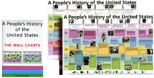 a people s history of the united states the wall charts zinn