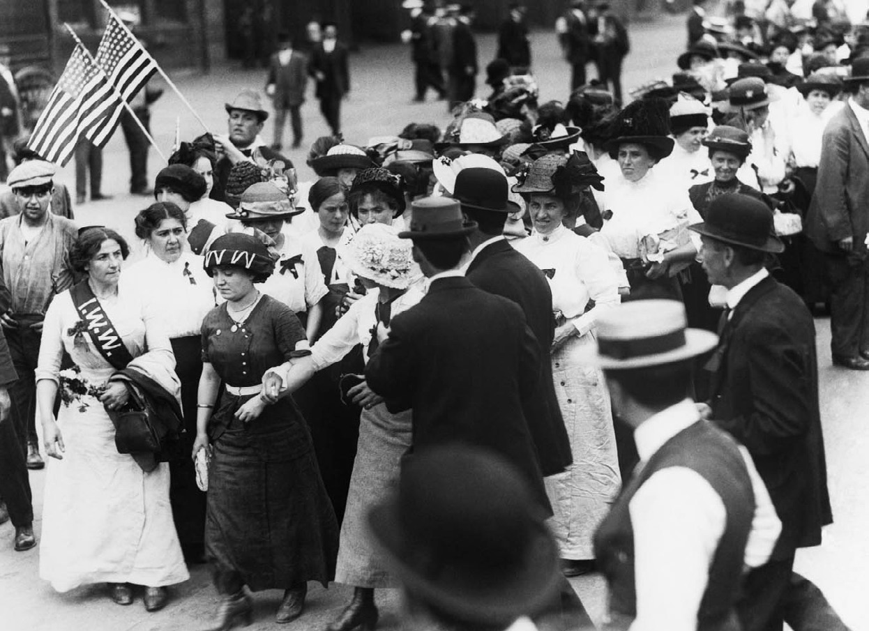 Exploring Women's Rights: The 1908 Textile Strike in a 1st-grade Class (Teaching Activity) | Zinn Education Project: Teaching People's History