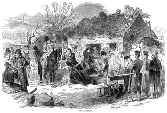 """The Ejectment"" - Irish Famine | Zinn Education Project"