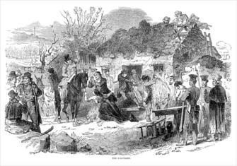 Irish Famine Ejectment Featured Image