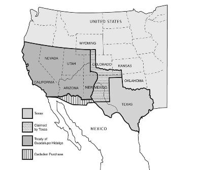 US Mexico War We Take Nothing By Conquest Thank God Zinn - Us map mexican war