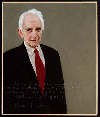 Daniel Ellsberg portrait by Americans Who Tell the Truth | Zinn Education Project
