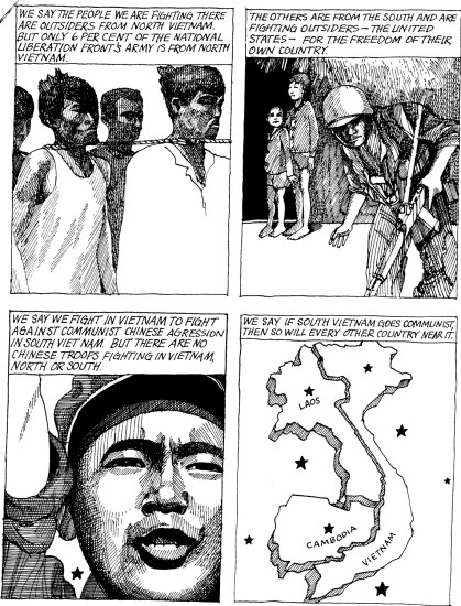 Vietnam Comic Book | Zinn Education Project