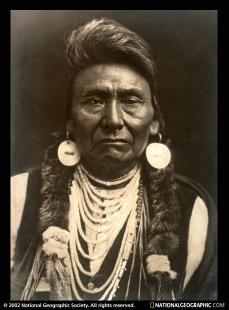 Activist and environmentalist, Chief Joseph. Photo: National Geographic