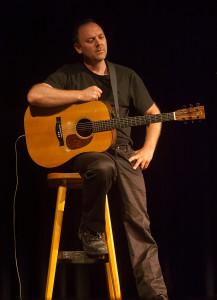 David Rovics. Photo by Tatjana Ingold.