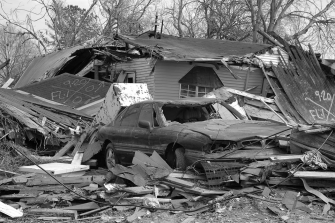 Destroyed house in 9th Ward | Zinn Education Project
