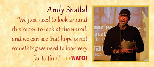 Zinn Room Dedication: Andy Shallal | Zinn Education Project: Teaching People's History