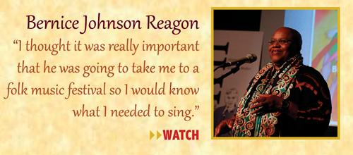 Zinn Room Dedication: Bernice Johnson Reagon | Zinn Education Project: Teaching People's History
