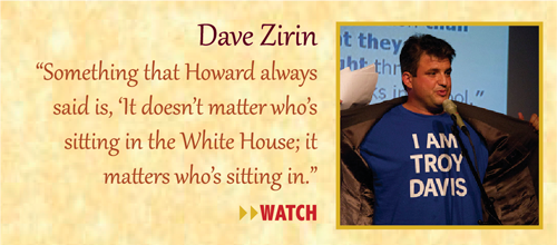 Zinn Room Dedication: Dave Zirin | Zinn Education Project: Teaching People's History