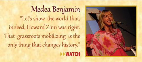 Zinn Room Dedication: Medea Benjamin | Zinn Education Project: Teaching People's History