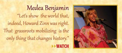 Zinn Room Dedication: Medea Benjamin | Zinn Education Project: Teaching People's History