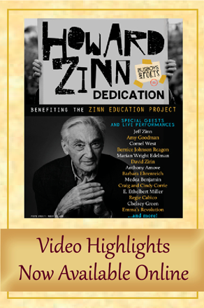 Howard Zinn Room Dedication: Video Highlights | Zinn Education Project: Teaching People's History