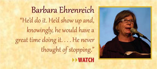 Zinn Room Dedication: Barbara Ehrenreich | Zinn Education Project: Teaching People's History