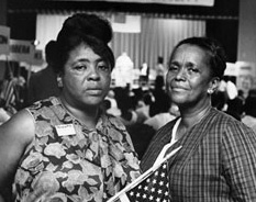 Fannie Lou Hamer and Ella Baker, 1964 | Zinn Education Project