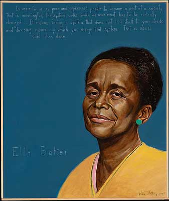 Ella Baker Painting | Zinn Education Project