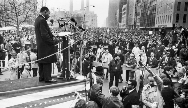 Martin Luther King Jr. speech at UN Plaza | Zinn Education Project