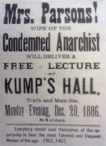 Lucy Parsons Lecture Flyer | Zinn Education Project: Teaching People's History