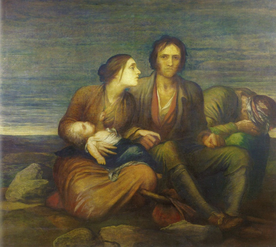 The Irish Famine, 1850 by George Frederic Watts | Zinn Education Project
