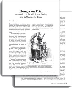 Hunger on Trial (Teaching Activity) | Zinn Education Project: Teaching People's HIstory