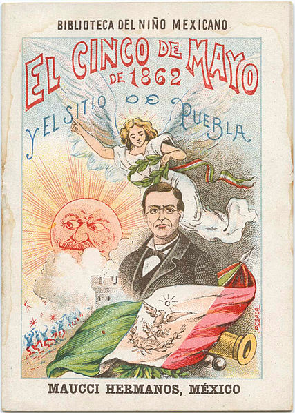 Rethinking Cinco de Mayo (Article) - 1901 poster for Cinco de Mayo by Jose Guadalupe Posada | Zinn Education Project: Teaching People's History
