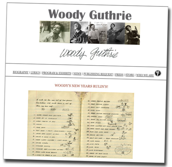 Woody Guthrie Website | Zinn Education Project: Teaching People's History