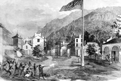 Raid on Harpers Ferry, Frank Leslie's Illustrated Newspaper, 1859.
