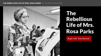 Rebellious Life of Mrs. Rosa Parks (Website) | Zinn Education Project: Teaching People's History
