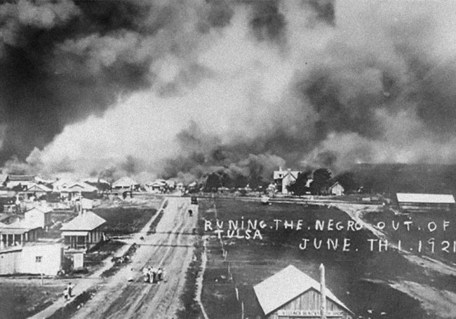 """""""Running the Negro out of Tulsa"""" 