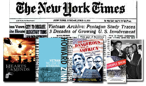 Pentagon Papers collage | Zinn Education Project