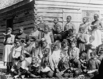 Freedpeople's school, ca. 1890. © Valentine Richmond History Center.