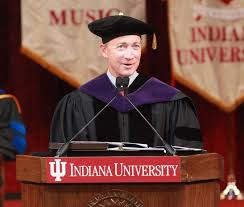 Former Indiana Gov. Mitch Daniels became president of Purdue University in January.