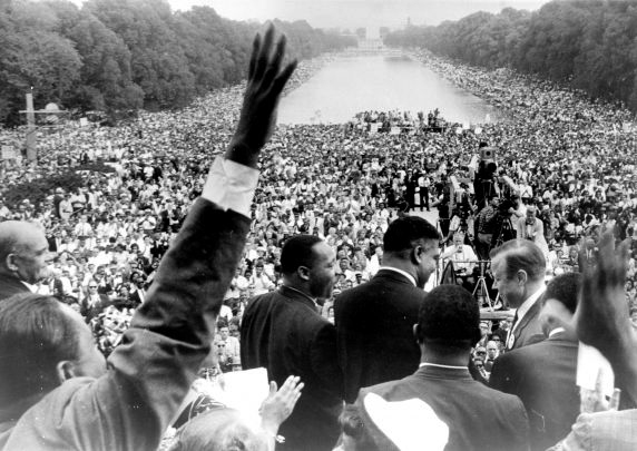 March on Washington, crowd view | Zinn Education Project