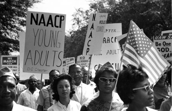 NCAAP at the March on Washington | Zinn Education Project