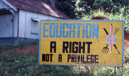 Grenada education poster| Zinn Education Project