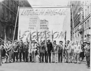 Lincoln vets in the 1946 NY May Day Parade.
