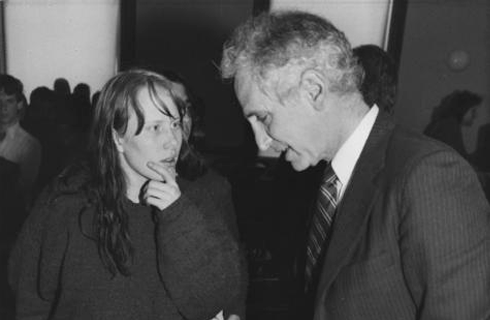Amy Carter and Daniel Ellsberg. Photo: UPI Photo/Pool/Files.