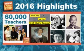 2016 Highlights | Zinn Education Project: Teaching People's History