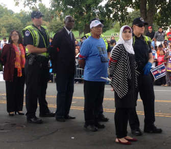 New York Immigration Coalition leaders being arrested | Zinn Education Project
