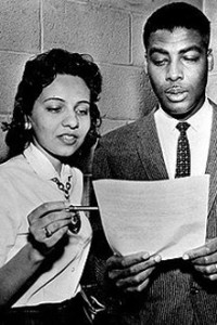 Diane Nash with fellow activist Kelly Miller Smith. Image: The Nashville Tennessean
