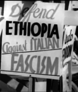 March in support of Ethiopia | Zinn Education Project