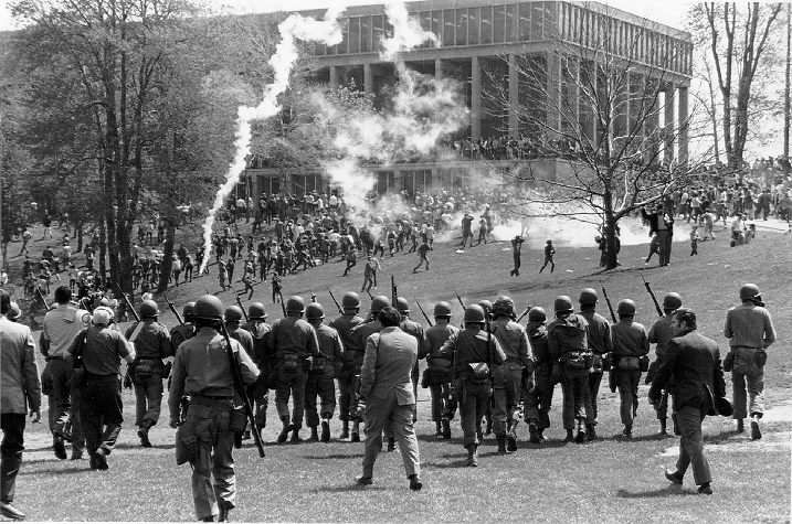 a history of kent state riot of may 1970