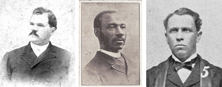 Three of the 150 ministers who sent a letter to Pres. Taft | Zinn Education Project