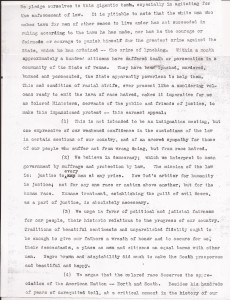 Aug. 13, 1910: Ministers Appeal to President Taft After Slocum Massacre (This Day in History) - Committee letter to President Taft, Page 2 | Zinn Education Project: Teaching People's History