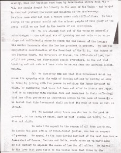 Aug. 13, 1910: Ministers Appeal to President Taft After Slocum Massacre (This Day in History) - Committee letter to President Taft, Page 3 | Zinn Education Project: Teaching People's History