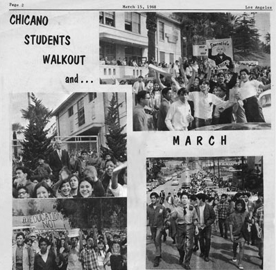 The History All Around Us: Roosevelt High School and the 1968 Eastside Blowouts (Teaching Activity) | Zinn Education Project: Teaching People's History