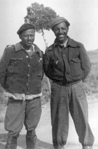Joe Taylor (left) and Bert Jackson (right), March 1938 (ALBA Collection)
