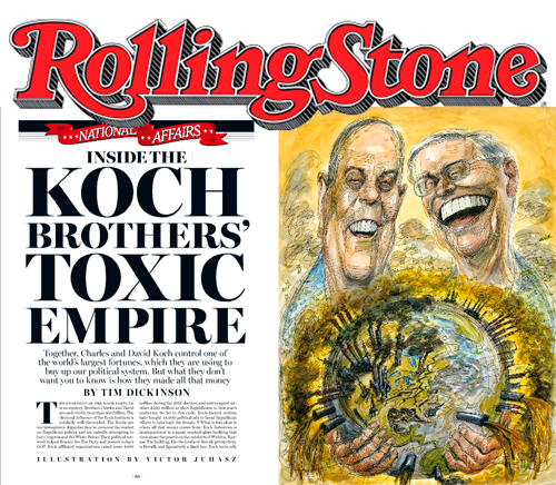 Rolling Stone article on the Koch Bros. | Zinn education Project